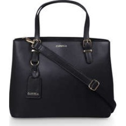 Womens Carvela Hooper Slouch Tote, Black found on Bargain Bro from Shoeaholics for £29