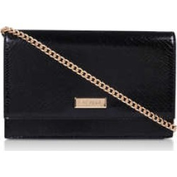 Womens Carvela Kokoblack Snake Print Clutch Bag, No Size found on MODAPINS from Shoeaholics for USD $40.91