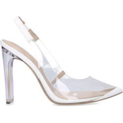 Womens Aldo Feiwiawhite Perspex Block Heels, 4 UK found on MODAPINS from Shoeaholics for USD $40.39