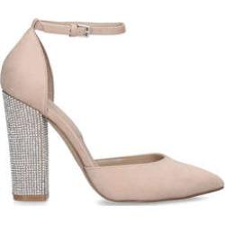 Aldo Nicholes - Nude Embellished Block Heels found on MODAPINS from Kurt Geiger UK for USD $81.41