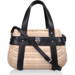 Kurt Geiger London Kensington Basket - Black And Beige Shopper Bag found on Bargain Bro UK from Kurt Geiger UK