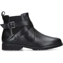 Carvela Comfort Robbie - Black Leather Chelsea Boots found on Bargain Bro UK from Kurt Geiger UK