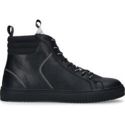 KG Kurt Geiger Kyson - Black High Top Sneakers found on MODAPINS from Kurt Geiger UK for USD $136.94