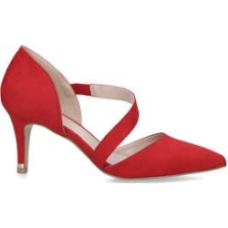 Carvela Kyto - Red Suedette Court Heels found on MODAPINS from Kurt Geiger UK for USD $86.42