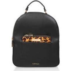 Womens Felix Pocket Backpack Flat Handbags Carvela Blk/Brown found on Bargain Bro UK from Shoeaholics