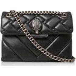 Kurt Geiger London Mini Kensington - Black Quilted Leather Mini Bag found on Bargain Bro UK from Kurt Geiger UK