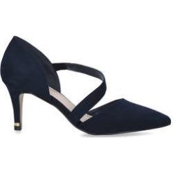 Carvela Kyto - Navy Suedette Court Heels found on MODAPINS from Kurt Geiger UK for USD $86.42
