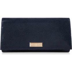 Carvela Kareless - Navy Croc Print Clutch Bag found on MODAPINS from Kurt Geiger UK for USD $54.02