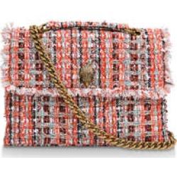 Kurt Geiger London Large Tweed Kensington - Orange Tweed Bag found on Bargain Bro UK from Kurt Geiger UK