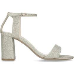 Womens Carvela Kikimetallic Gold Block Heel Sandals, 4 UK found on Bargain Bro UK from Shoeaholics