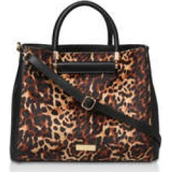 Carvela Flow Hardware Handle Tote - Leopard Print Tote Bag found on Bargain Bro UK from Kurt Geiger UK