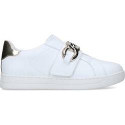 Womens Michael Michael Kors Kenna Sneaker, 6 UK, White found on Bargain Bro UK from Shoeaholics