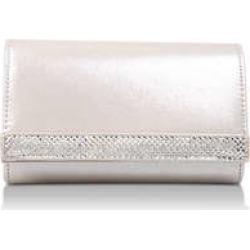Womens Carvela Kinkkink Flat Handbags Carvela Silver Com, Silver Combination found on Bargain Bro UK from Shoeaholics