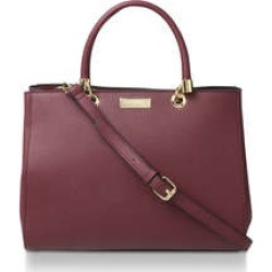 Womens Dory Structured Tote Handbags Carvela Wine Shoulder Tote found on Bargain Bro UK from Shoeaholics