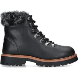 Womens Kg Kurt Geiger Tyronetyrone Ankle Boots Kg Kurt Geiger Black Snow Boots Hiker Boots Biker Boots, 3.5 UK found on MODAPINS from Shoeaholics for USD $55.11