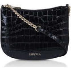 Womens Carvela Isla Cross Bodyblack Croc Cross Body Bag, No Size found on Bargain Bro UK from Shoeaholics