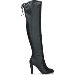 Carvela Pamela - Black Block Heel Over The Knee Boots found on MODAPINS from Kurt Geiger UK for USD $36.55