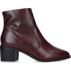 Carvela Ship - Wine Block Heel Ankle Boots found on Bargain Bro UK from Kurt Geiger UK