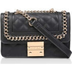Carvela Mini Bailey Cross Body - Black Quilted Cross Body Bag found on MODAPINS from Kurt Geiger UK for USD $58.88