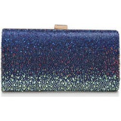 Womens Carvela Lovebird Clutch, Navy found on Bargain Bro from Shoeaholics for £59