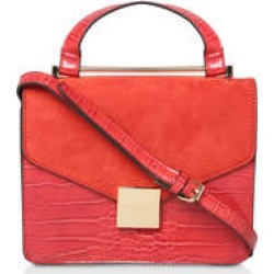 Womens Fame Top Handle Tote Handbags Carvela Orange found on Bargain Bro UK from Shoeaholics