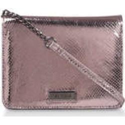Carvela Rebecca Croc Cross Body - Metallic Cross Body Bag found on Bargain Bro UK from Kurt Geiger UK
