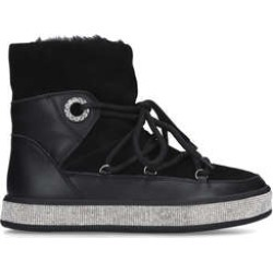 Womens Carvela Techtonicblack Embellished Snow Boots, 7 UK found on MODAPINS from Shoeaholics for USD $83.20