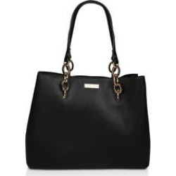 Womens Florence Chain Tote Flat Handbags Carvela Black found on Bargain Bro UK from Shoeaholics