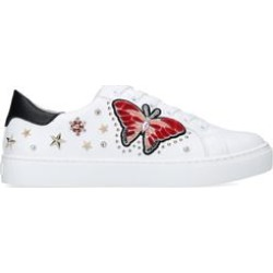 Womens Aldo Mariposawhite Embellished Trainers, 8 UK found on MODAPINS from Shoeaholics for USD $97.92