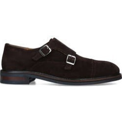 KG Kurt Geiger Shipley - Brown Suede Monk Shoes found on MODAPINS from Kurt Geiger UK for USD $39.63