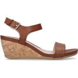 Womens Carvela Sparkletan Mid Heel Wedge Sandals, 5 UK found on Bargain Bro UK from Shoeaholics