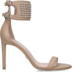 Kurt Geiger London Seth High Sandal - Nude Studded Ankle Strap Sandal found on Bargain Bro UK from Kurt Geiger UK