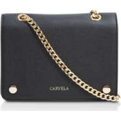 Womens Carvela Rhona Cross Bodyblack Structured Cross Body Bag, No Size found on Bargain Bro UK from Shoeaholics