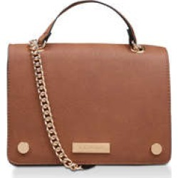 Carvela Rhona Cross Body - Tan Cross Body Bag found on Bargain Bro UK from Kurt Geiger UK