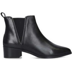 Carvela Spiral - Black Leather Ankle Boots found on MODAPINS from Kurt Geiger UK for USD $83.23