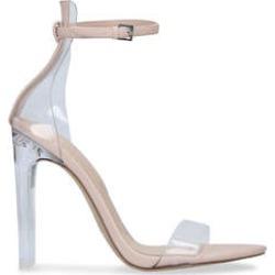 Aldo Aserania - Nude Barely There Heeled Sandals found on Bargain Bro UK from Kurt Geiger UK