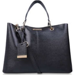 Carvela Samantha Slouch Tote - Black Tote Bag found on Bargain Bro UK from Kurt Geiger UK