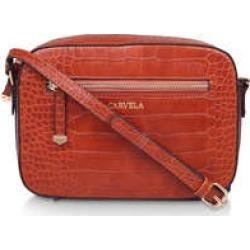 Carvela Daisy Cross Body - Tan Croc Cross Body Bag found on Bargain Bro UK from Kurt Geiger UK