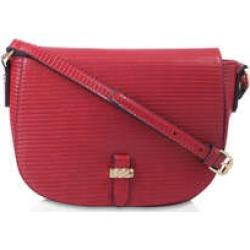 Carvela Jemini Saddle Bag - Red Cross Body Saddle Bag found on MODAPINS from Kurt Geiger UK for USD $68.86