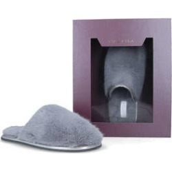 Womens Ellie Mule Slipper Flat Ladies Accessories Carvela Grey, M found on Bargain Bro UK from Shoeaholics