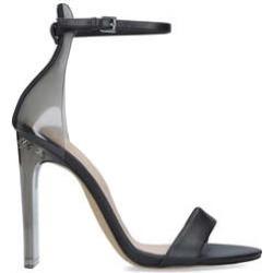 Aldo Aserania - Black Barely There Heeled Sandals found on Bargain Bro UK from Kurt Geiger UK