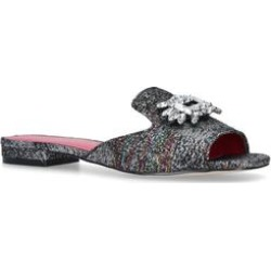 Womens Kurt Geiger London Pia Sandal Nppia Sandal Np Summer Kurt Geiger London Silver, 3.5 UK found on Bargain Bro UK from Shoeaholics