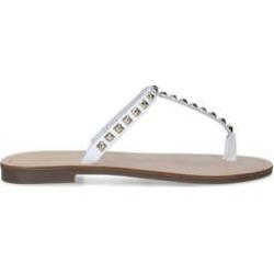 Carvela Kid - White Studded Flat Sandals found on Bargain Bro UK from Kurt Geiger UK