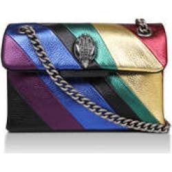 Kurt Geiger London Mini Kensington S Bag - Rainbow Stripe Mini Shoulder Bag found on Bargain Bro UK from Kurt Geiger UK