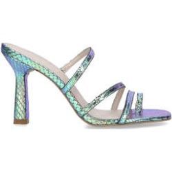 Carvela Goddess - Blue Stiletto Heel Strappy Sandals found on Bargain Bro UK from Kurt Geiger UK