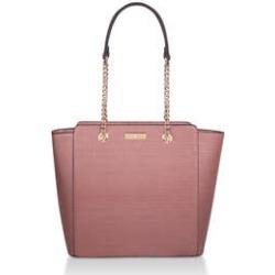 Carvela Deedee - Pink Croc Print Tote Bag found on Bargain Bro UK from Kurt Geiger UK