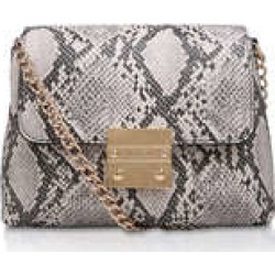 Womens Mini Blink Shoulder Bag Carvela Handbags Beige Comb Snake Print Bag found on Bargain Bro UK from Shoeaholics