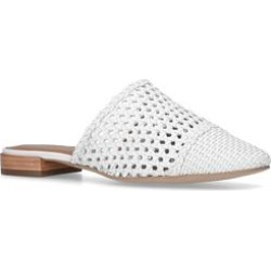Womens Kurt Geiger London Olivemules, 4 UK, White found on Bargain Bro UK from Shoeaholics