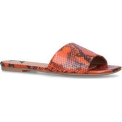 Womens Sterling Low Heel 0-21Mm Flats London Rebel Orange, 3 UK found on Bargain Bro UK from Shoeaholics