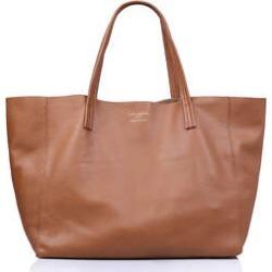 Kurt Geiger London Violet Horizontal Tote - Tan Leather Tote Bag found on Bargain Bro UK from Kurt Geiger UK